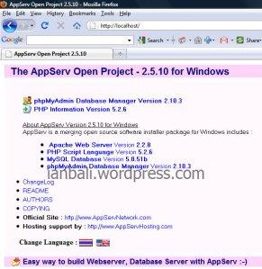 Install AppServ PHP MySQL - Pemrograman Web PHP MySQL